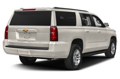 3 4 Rear Glamour 2016 Chevrolet Suburban