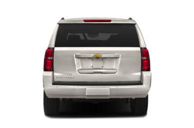 Rear Profile 2016 Chevrolet Suburban