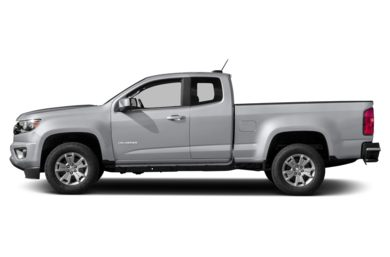 90 Degree Profile 2019 Chevrolet Colorado