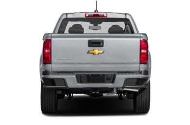 Rear Profile  2019 Chevrolet Colorado