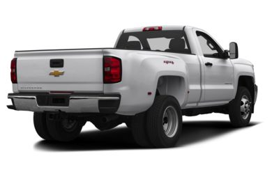 3/4 Rear Glamour  2015 Chevrolet Silverado 3500HD