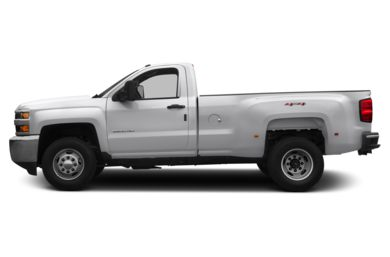 90 Degree Profile 2015 Chevrolet Silverado 3500HD