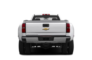 Rear Profile  2015 Chevrolet Silverado 3500HD