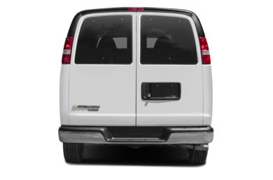 Rear Profile  2019 Chevrolet Express 3500