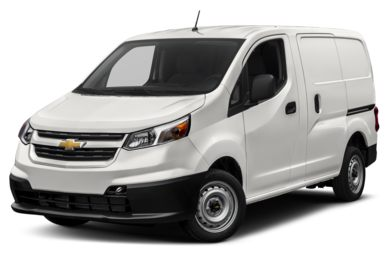 3/4 Front Glamour 2018 Chevrolet City Express