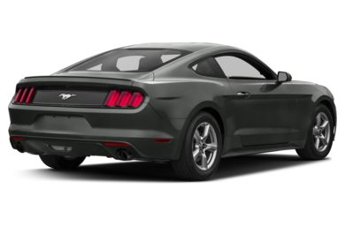 3/4 Rear Glamour  2017 Ford Mustang