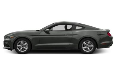 90 Degree Profile 2016 Ford Mustang