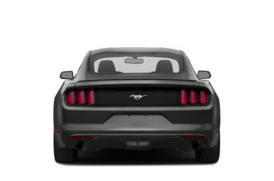 Rear Profile 2016 Ford Mustang
