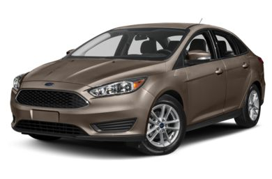 3/4 Front Glamour 2018 Ford Focus