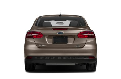 Rear Profile  2017 Ford Focus