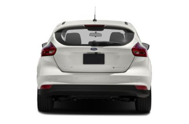 Rear Profile  2018 Ford Focus Electric