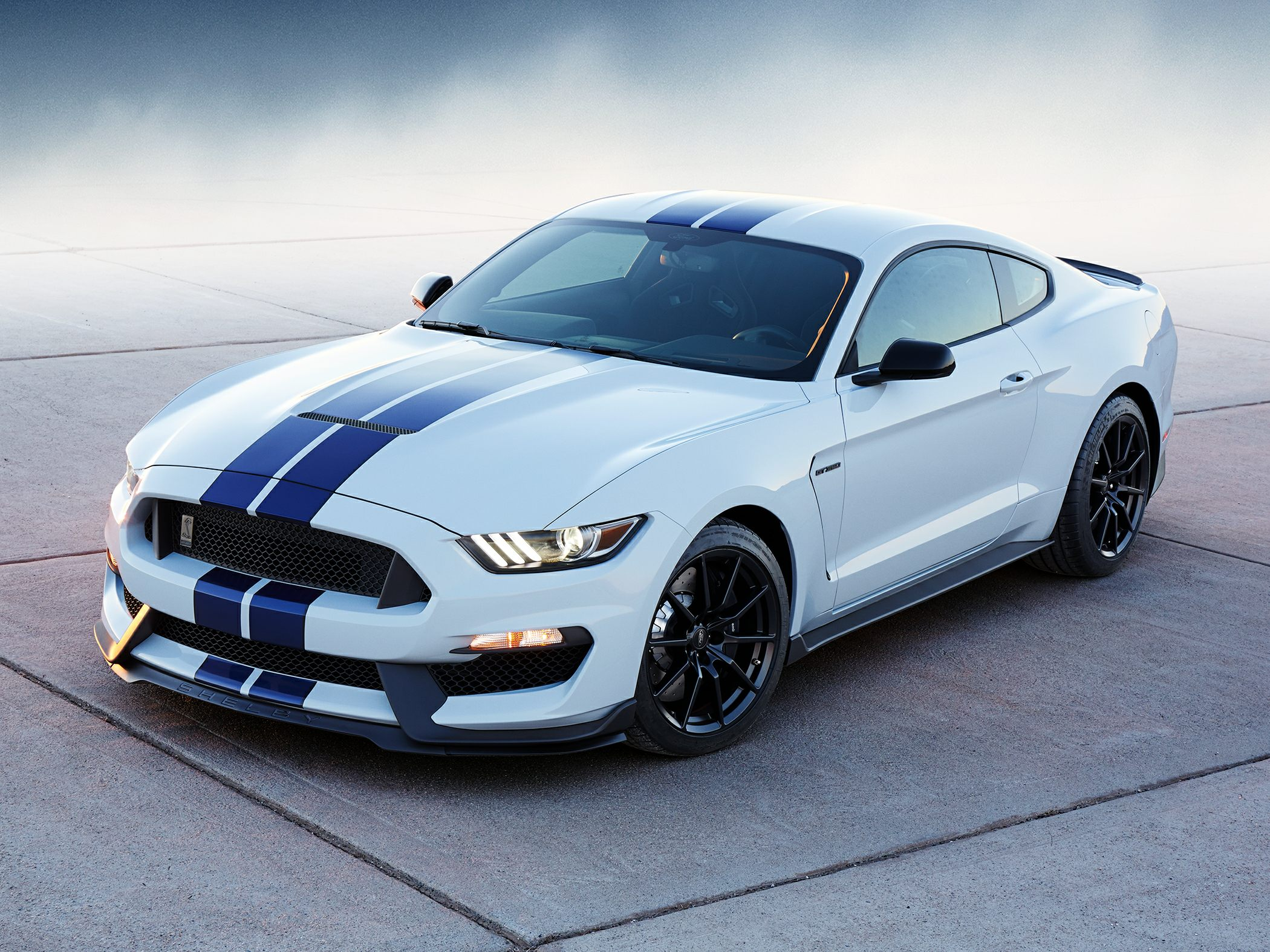 Ford Shelby Gt  Front Quarter