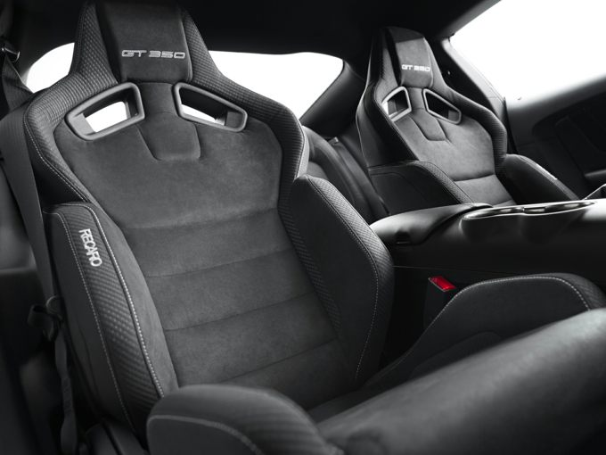 Ford Shelby GT350 Seats
