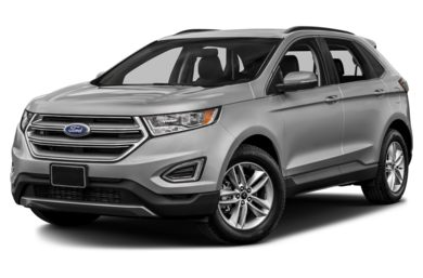 3/4 Front Glamour 2017 Ford Edge