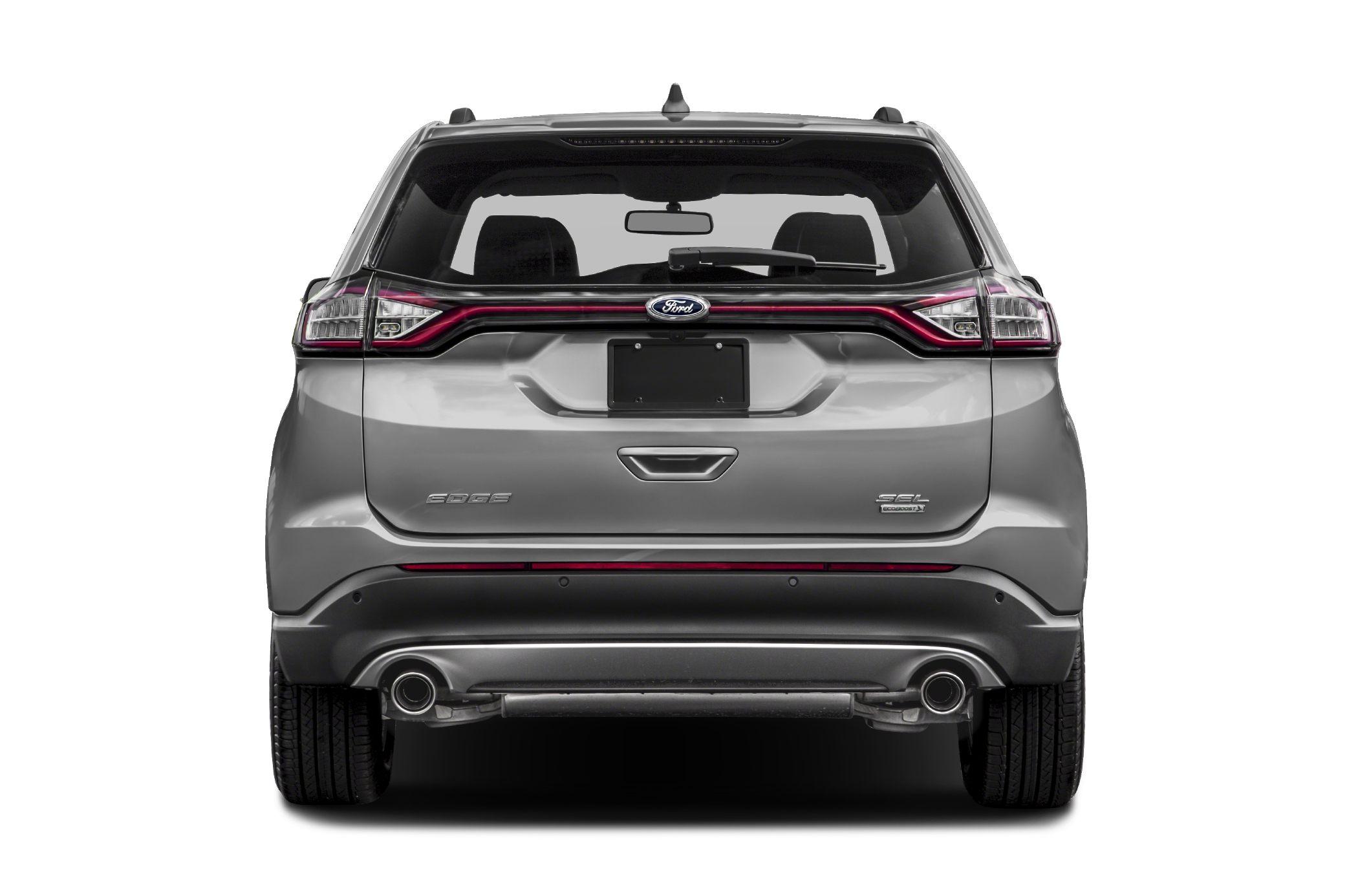 Rear Profile  Ford Edge