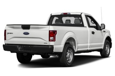 3/4 Rear Glamour  2015 Ford F-150