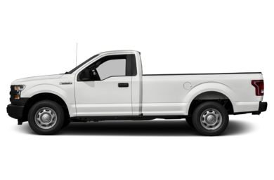 90 Degree Profile 2016 Ford F-150