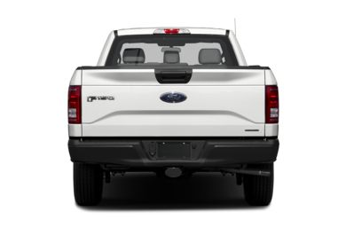 Rear Profile  2016 Ford F-150