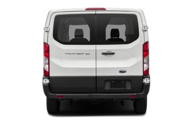 Rear Profile  2015 Ford Transit-150