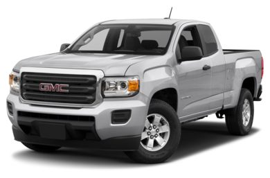 3/4 Front Glamour 2017 GMC Canyon