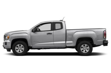 90 Degree Profile 2015 GMC Canyon