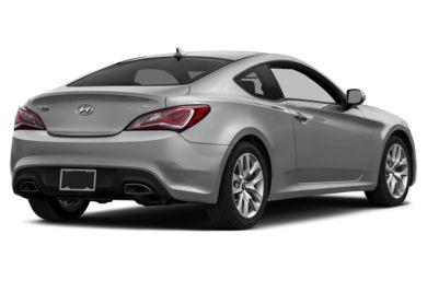 3 4 Rear Glamour 2016 Hyundai Genesis Coupe