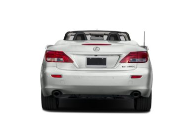 Rear Profile  2014 Lexus IS 250C