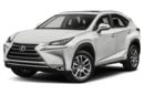 3/4 Front Glamour 2017 Lexus NX 200t