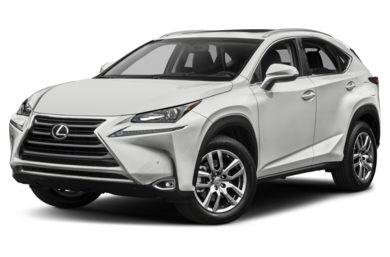3/4 Front Glamour 2016 Lexus NX 200t