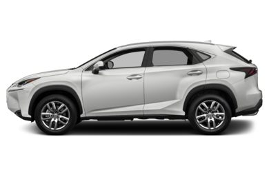 90 Degree Profile 2017 Lexus NX 200t
