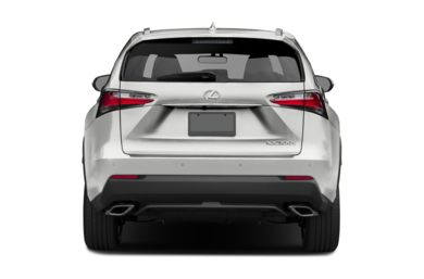 Rear Profile  2017 Lexus NX 200t