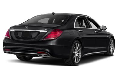 3/4 Rear Glamour  2015 Mercedes-Benz S65 AMG