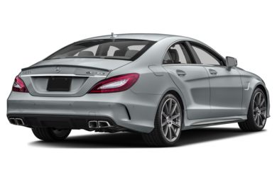 3/4 Rear Glamour  2016 Mercedes-Benz CLS63 AMG