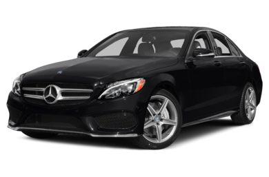 3/4 Front Glamour 2015 Mercedes-Benz C400