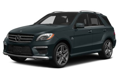 3/4 Front Glamour 2015 Mercedes-Benz ML63 AMG