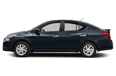 90 Degree Profile 2017 Nissan Versa