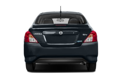 Rear Profile  2017 Nissan Versa