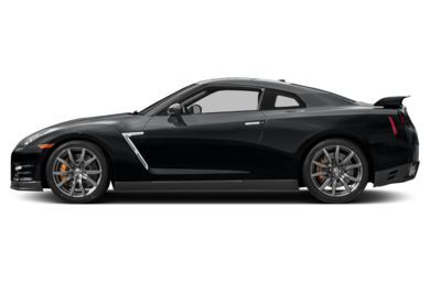 90 Degree Profile 2015 Nissan GT-R