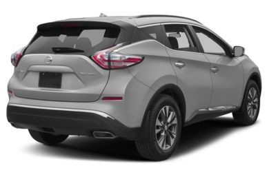 3 4 Rear Glamour 2017 Nissan Murano
