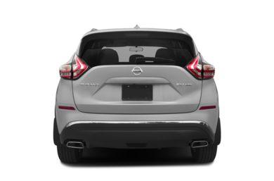 Rear Profile 2017 Nissan Murano