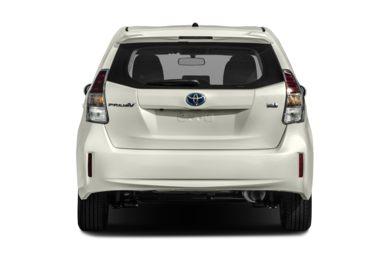 V Rear Profile 2017 Toyota Prius