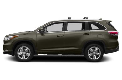 90 Degree Profile 2014 Toyota Highlander