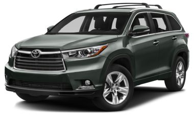 Toyota Highlander Colors >> 2015 Toyota Highlander Color Options Carsdirect
