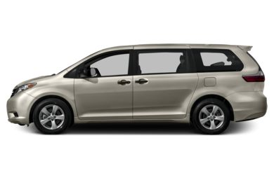 90 Degree Profile 2017 Toyota Sienna