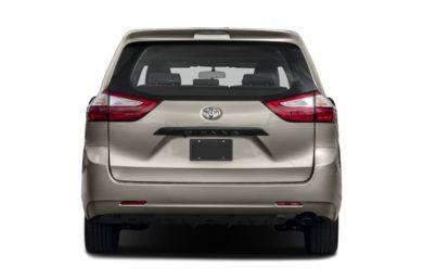 Rear Profile 2016 Toyota Sienna