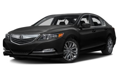 3/4 Front Glamour 2016 Acura RLX