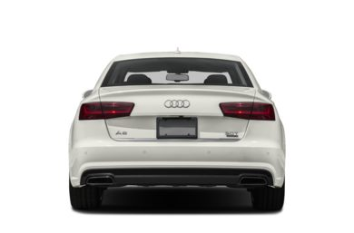 Rear Profile  2018 Audi A6
