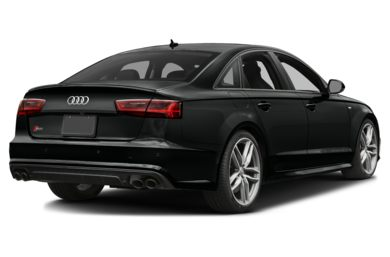 3/4 Rear Glamour  2018 Audi S6