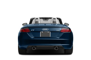Rear Profile  2018 Audi TT