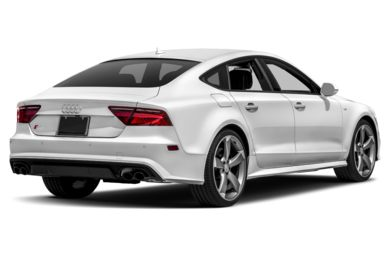 3/4 Rear Glamour  2018 Audi S7